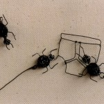 Sayings, idiom, ants, pants, metal, wire, magnets, canvas, ants in your pants,