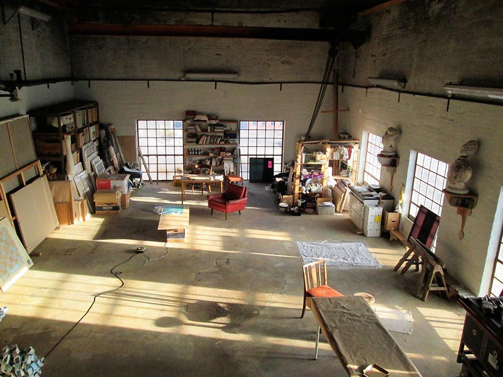 Studio at Sakskøbing Sugar Factory