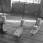 boats, installation, sculpture, found objects, fabrik 2003
